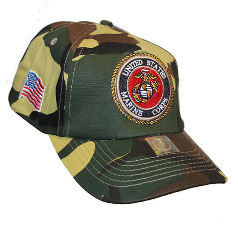 Officialy Licensed USMC Camo American Flag Hat - 30% OFF & FREE SHIPPING WHILE SUPPLIES LAST!