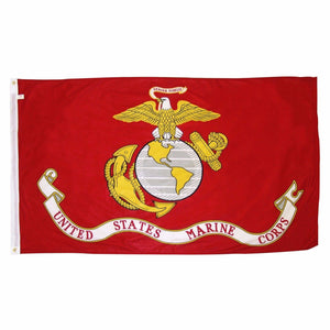 LIMITED EDITION 3'x5' Ft United States Marines USMC Pride Flag - 50% OFF & FREE SHIPPING WHILE SUPPLIES LAST! - Veteran Tees