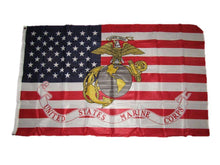 3x5 American Flag EGA Marines Marine Corps Knitted Flag (150D) - 70% OFF WHILE SUPPLIES LAST! - Veteran Tees - 1