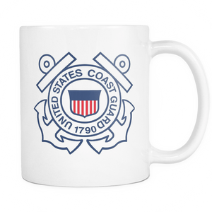 LIMITED EDITION - U.S. Coast Guard Mug - Veteran Tees - 1