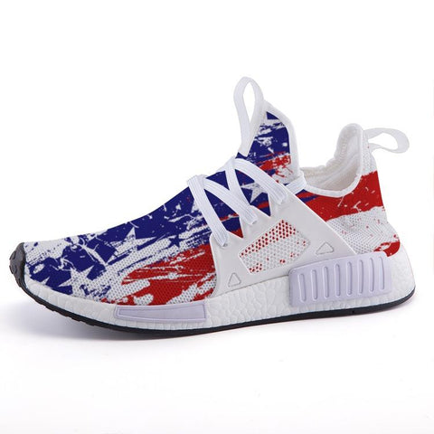 "Red, White, & Blue ""Speed"" Sport Shoes"