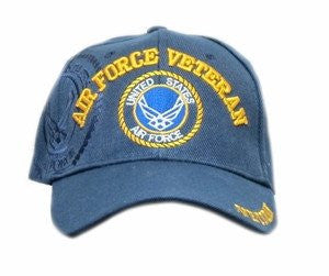 Embroidered United States Air Force Veteran Cap