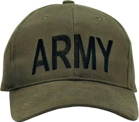 Olive Drab - ARMY Adjustable Cap - Veteran Tees