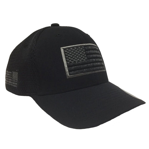 USA American Flag Flexfit Mesh Tactical Operators Cap