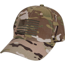 MultiCam US Flag Low Profile Cap - Veteran Tees - 2
