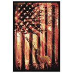 """All American Deer"" Ready to Hang Canvas Painting"