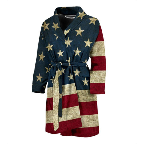 Limited Edition American Flag Bath Robe