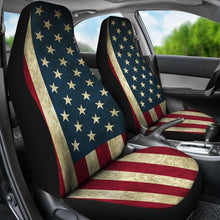 American Flag Car Seat Covers (Set of 2)