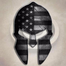 Subdued Flag Spartan Helmet Sticker American Tactical Arms Gun Decal - FREE SHIPPING - Veteran Tees - 3