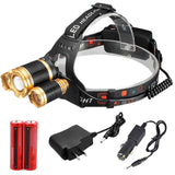 ZOOM CREE 30000LUMENS 3X Headlamp - 75% OFF & FREE SHIPPING WHILE SUPPLIES LAST!