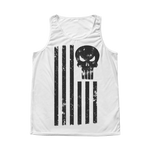 LIMITED EDITION; American Flag Punisher Tank - Veteran Tees