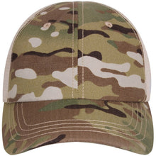Multicam - Adjustable Mesh Back Tactical Cap - Veteran Tees - 2
