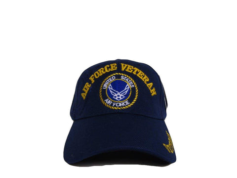 LIMITED EDITION US Air Force Veteran Shadow Embroidered Baseball Cap - 40% OFF WHILE SUPPLIES LAST!