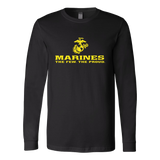 "LIMITED EDITION - Marines ""The Few. The Proud."" Single Sided - Veteran Tees - 6"