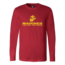 "LIMITED EDITION - Marines ""The Few. The Proud."" Single Sided - Veteran Tees - 7"