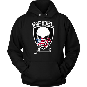 Exclusive Infidel Skull Military Logo