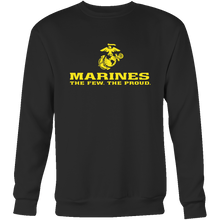 "LIMITED EDITION - Marines ""The Few. The Proud."" Single Sided - Veteran Tees - 8"