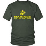 "LIMITED EDITION - Marines ""The Few. The Proud."" Single Sided - Veteran Tees - 3"