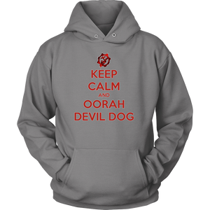 "LIMITED EDITION ""KEEP CALM AND OORAH"" - 30% OFF WHILE SUPPLIES LAST! - Veteran Tees - 12"