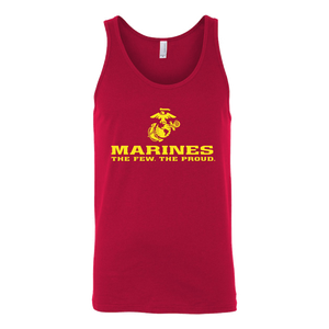 "LIMITED EDITION - Marines ""The Few. The Proud."" Single Sided - Veteran Tees - 5"