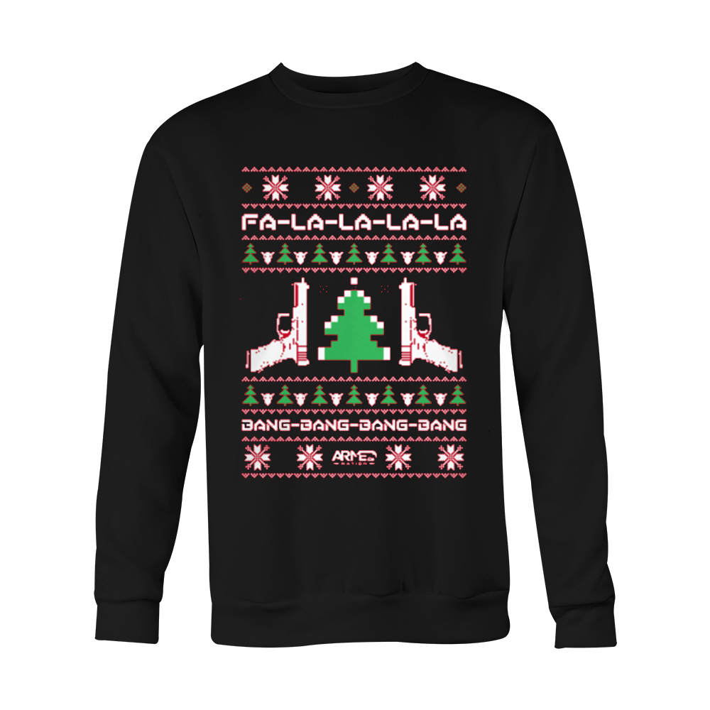 LIMITED EDITION Guns Ugly Christmas Sweater - 50% OFF WHILE SUPPLIES LAST! - Veteran Tees - 2