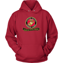 "Limited Edition USMC ""Served With Pride"" Shirt, Sweatshirt, Hoodie - 30% OFF WHILE SUPPLIES LAST! - Veteran Tees - 8"