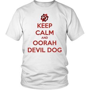 "LIMITED EDITION ""KEEP CALM AND OORAH"" - 30% OFF WHILE SUPPLIES LAST! - Veteran Tees - 1"