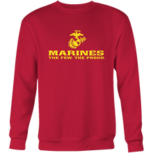 "LIMITED EDITION - Marines ""The Few. The Proud."" Single Sided - Veteran Tees - 9"
