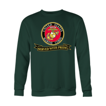 "Limited Edition USMC ""Served With Pride"" Shirt, Sweatshirt, Hoodie - 30% OFF WHILE SUPPLIES LAST! - Veteran Tees - 6"