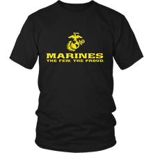 "LIMITED EDITION - Marines ""The Few. The Proud."" Single Sided - Veteran Tees - 2"