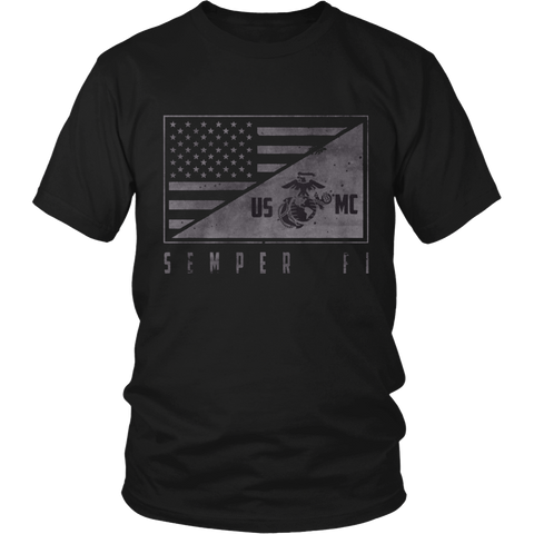 "LIMITED EDITION ""SEMPER FI"" EXCLUSIVE DESIGN - 30% OFF WHILE SUPPLIES LAST! - Veteran Tees - 1"