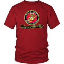 "Limited Edition USMC ""Served With Pride"" Shirt, Sweatshirt, Hoodie - 30% OFF WHILE SUPPLIES LAST! - Veteran Tees - 2"