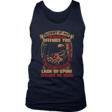 """Lack of Patriotism Offends You"" Shirts, Tanks, Longsleeves, & Hoodies"