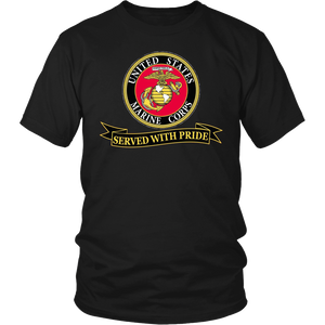 "Limited Edition USMC ""Served With Pride"" Shirt, Sweatshirt, Hoodie - 30% OFF WHILE SUPPLIES LAST! - Veteran Tees - 3"