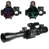 Illuminated 3-9X40 Scope with Red Dot & Holographic Dot Sight