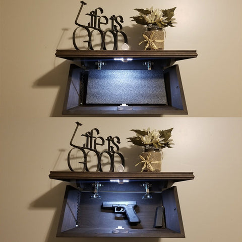 Veteran Handmade in USA Concealment Shelf (FREE SHIPPING LIMITED TIME ONLY)
