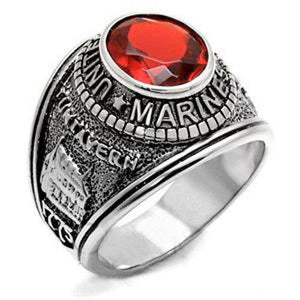 LIMITED EDITION US Marine Corps Ring USMC Military Ring SILVER & GOLD - 75% OFF & FREE SHIPPING WHILE SUPPLIES LAST! - Veteran Tees - 6