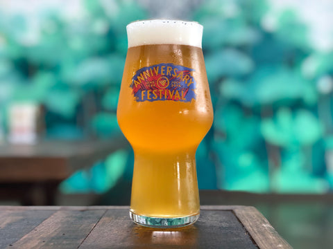 Anniversary Festival Limited Edition Glass