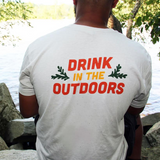 Drink In The Outdoors Tee - Grey