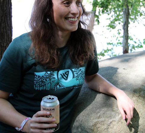 Drink In The Outdoors Tee - Green