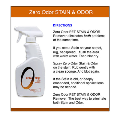 Zero Odor 174 Pet Stain Remover And Molecular Odor Eliminator