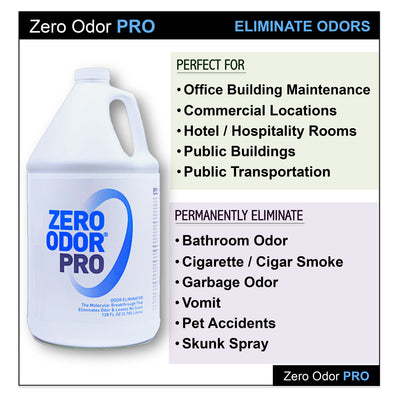 Zero Odor 174 Pro Multi Purpose Commercial Odor Eliminator