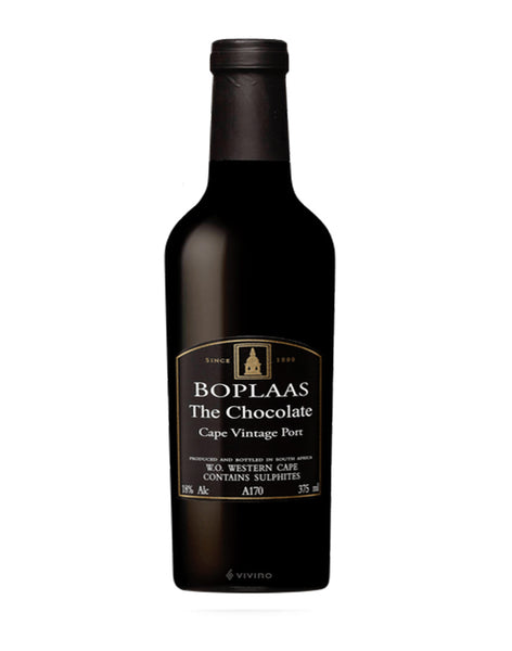Boplaas Cape Vintage Chocolate Port 2016 (Half Bottle)