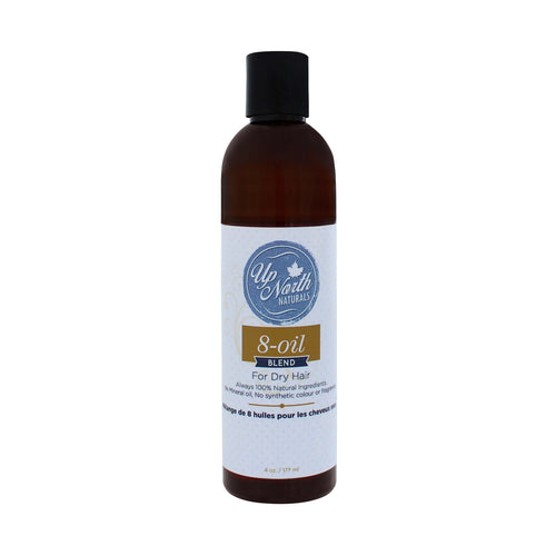 8-Oil Blend | Pre-Shampoo Treatment and Styling Oil for Naturally Curly Hair