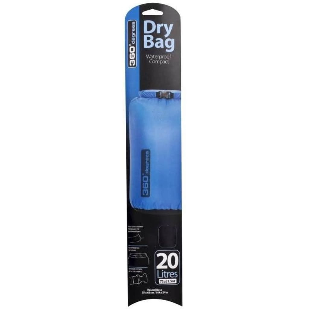360 Degrees Dry Bag 20L S / W Bags