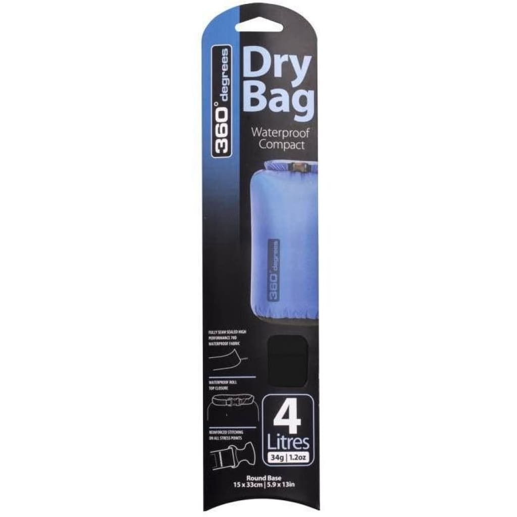 360 Degrees Dry Bag 4L S / W Bags