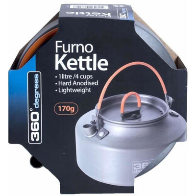 360 Degrees Furno 1L Kettle Cooking / Kitchenware