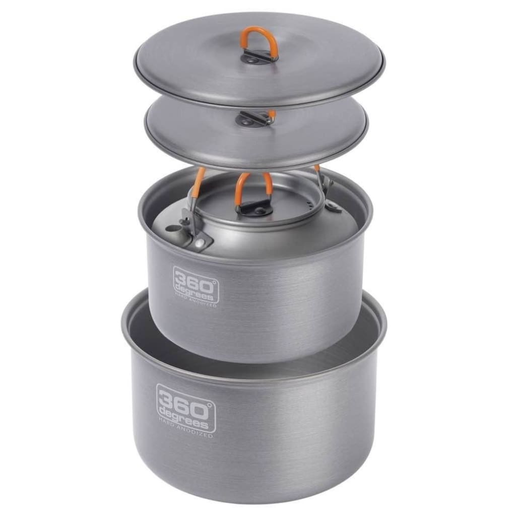 360 Degrees Furno Pot Set With Kettle Cooking / Kitchenware