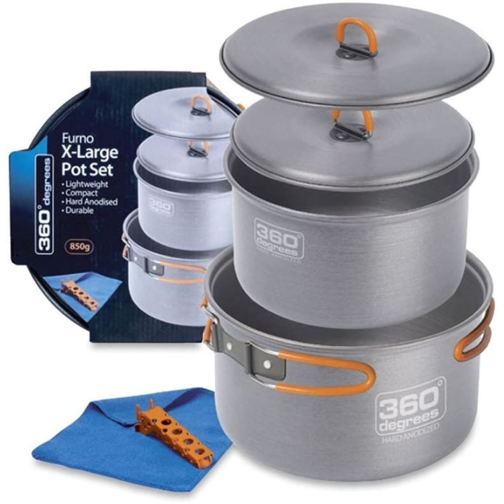 360 Degrees Furno Xl Pot Set Cooking / Kitchenware