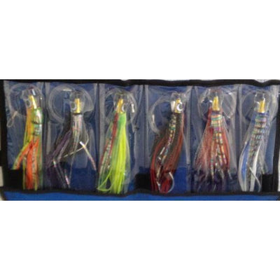 6Pc Rigged Marlin Lure Pack Lures